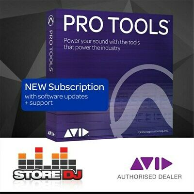 Avid Pro Tools 1-Year Subscription