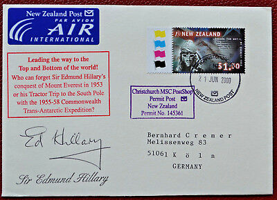 Edmund Hillary Antarctic Antarktis Polar Antarctica Polarpost New Zealand Ross