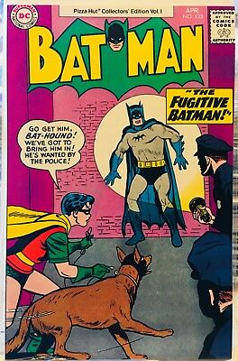 Batman , # 123, 1977, 9.4 NM Pizza Hut Give-Away Issue