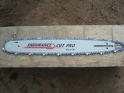 "18"" Chainsaw Guide Bar And Chain To Fit Husqvarna And Others 72 Links 325"" Pitch"