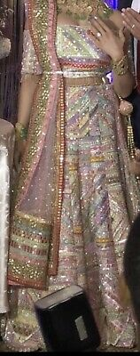 Designer bollywood royal bridal lengha pakistani Indian umar sayeed brand new