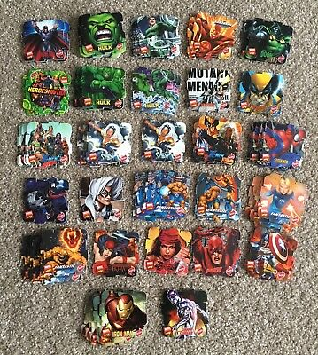 Rare 2005 Marvel Avengers Heroes Tazos-Pogs Lot Of 86 FREE POSTAGE