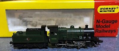 Hornby Minitrix N Steam engine and Tender 46402 by Trix Germany