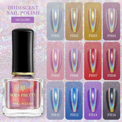 BORN PRETTY 6ml Magic Nail Polish Chameleon Glitter Manicure Nail Art Varnish