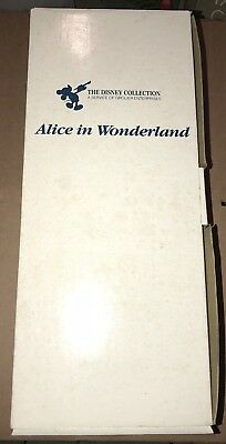 The Disney Collection Grolier Alice In Wonderland Porcelain Doll In Box Mint