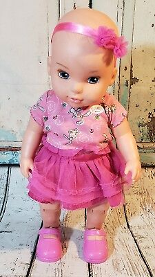 "MGA ZAPF Baby Born Dance With Me Baby 14"" Dancing Singing Baby Doll"