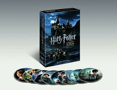 Harry Potter: Complete 8-Film Collection (DVD) NEW Sealed US Seller