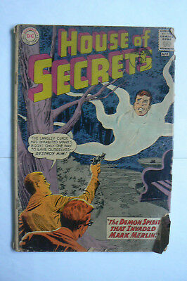 1963 DC COMIC - HOUSE OF SECRETS No 59