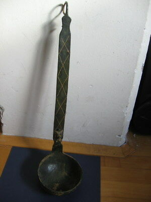 ANCIENT ROMAN BRONZE CEREMONIAL LADLE WITH LION BUST from SIRMIUM 1 ct. A.D.