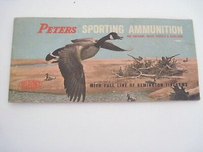 Peters Sporting Ammunition Booklet