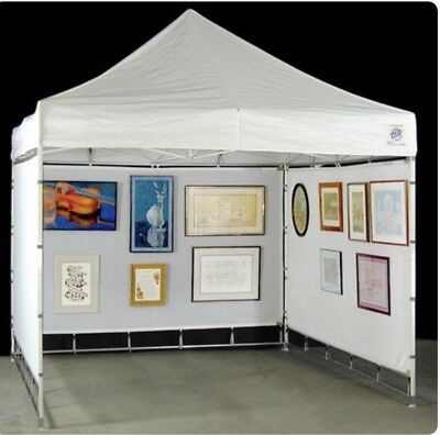 EZ Mesh Panels By Flourish With stabar and Tracklights For Art Show Crafts Show