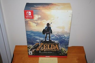 Legend of Zelda: Breath of the Wild Special Edition (Switch) NEW SEALED RARE!
