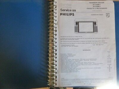 Doc technique TV Philips chassis TVC13