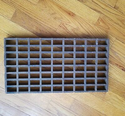 Antique ~ Wooden Floor ~ Register ~ Grate