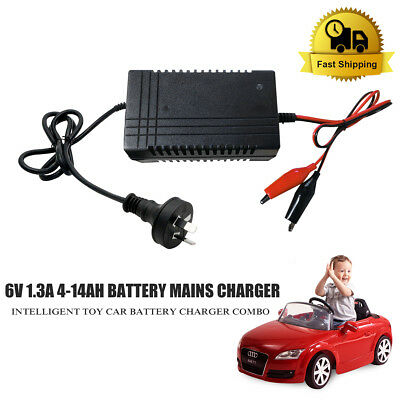 1300mA Lead Acid Battery Trickle Charger SLA 6V For Toy Car PWM Mains Charger