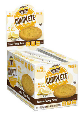 678g, 46,78 EUR/1Kg Lenny & Larry's Complete Cookie, Chocolate Chip - 12 cookie