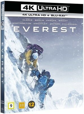 Everest 4K Movie Ultra Hd UHD Bluray Blu-ray