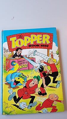The Topper Book 1987 annual (Unclipped) vintage book Christmas present