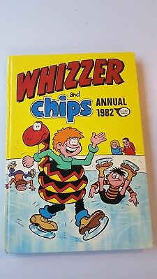 Whizzer And Chips 1982 Vintage Comic Book Annual Great Christmas / Birthday gift