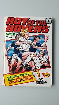 Roy of the Rovers Annual 1986 Vintage UNCLIPPED  Great Christmas / Birthday gift