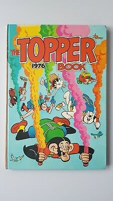 THE TOPPER BOOK ANNUAL 1976 -D.C. THOMSON  BERYL THE PERIL Great Christmas gift