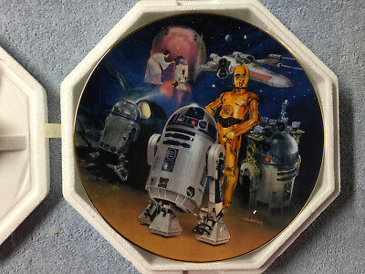 Star Wars Hamilton Collection Plate R2-D2