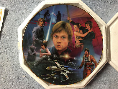 Star Wars Hamilton Collection Plate Luke Skywalker