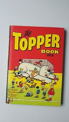 The Topper Book 1975 Vintage  Comic Annual Great Christmas / Birthday gift