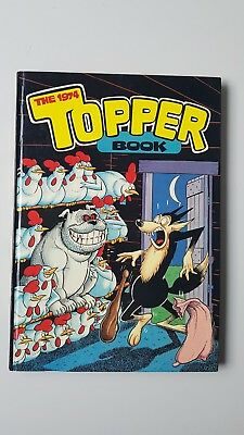 Vintage childrens annual The Topper Book 1974 good condition Beryl the Peril etc
