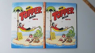 VINTAGE UK ANNUAL - THE TOPPER BOOK 1972 - BERYL THE PERIL  Christmas B/day gift