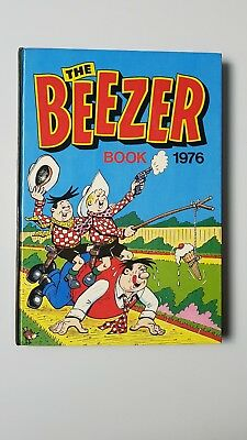 THE BEEZER BOOK/ANNUAL 1976 Hardback, Vintage, British Comic Book Good condition