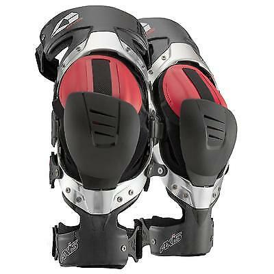 EVS AXIS Pro Knee Brace Carbon Fiber Motor Sport KneeBraces Large Pair BRAND NEW