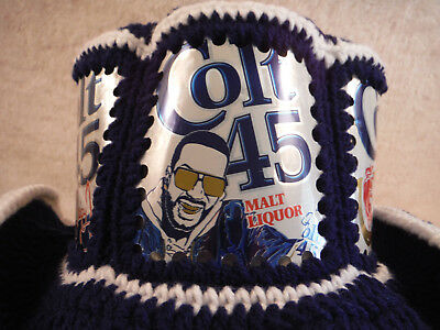 NEW  Colt 45 featuring Juicy J Original CanHeads Beer Can Hat Handmade!