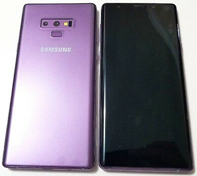 1:1 Dummy Non-Working Shop Display Phone Model For Samsung Galaxy Note 9 Purple