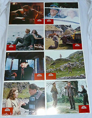 Donald Sutherland EYE OF THE NEEDLE Movie Original Lobby Card Set 8 1981 11x14