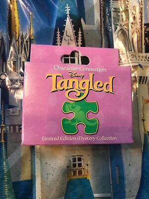 Disney Tangled Character Connection Mystery Puzzle Pin One UNOPENED BOX NEW