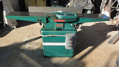 "Powermatic 8"" Jointer Model 60 See Video Working"