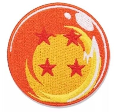 Dragon Ball Patch SUPER DBZ DBS Patch 4 Star DragonBall Iron-on Patch Cosplay **