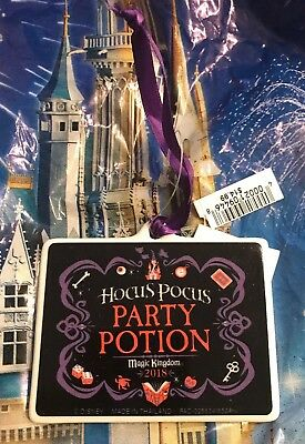 Disney Parks Mickey's Not So Scary Halloween Party Hocus Pocus Ornament 2018