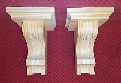 PAIR Mission Style Corbels Sconce (SCW#2906)