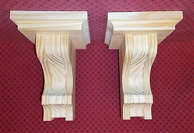 PAIR Mission Style Corbels Sconce (SCW#2925)