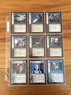 Lord of the Rings: Realms of the Elf-lords Trading Cards Complete Set