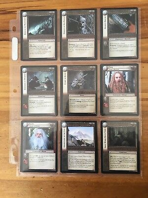 Lord of the Rings: Mines of Moria Trading Cards Complete Set