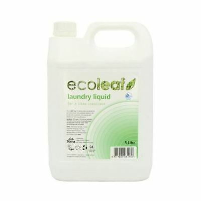 Ecoleaf Laundry Liquid 5Ltr (10 Pack)