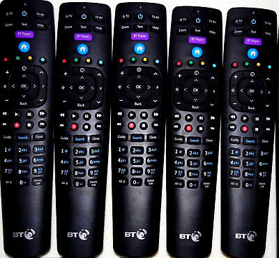 Genuine BT YouView Remote Control RC3124705/04B 2018 Model UK Fast Shipping