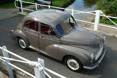 Morris Minor 1966 - Rose Taupe / Red - 'rosie' - Reliable - Ready To Go !!!!!!!!