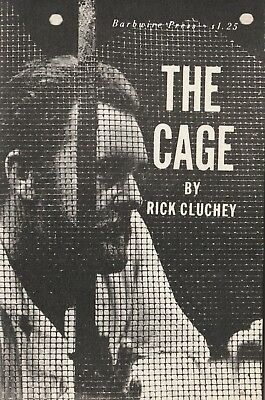 2prog.signé Rick CLUCHEY ( texte THE CAGE ) Raf VALLONE Francoise CHRISTOPHE