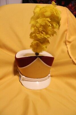 Ostward Marching Band Hat with Plum Maroon and Gold Fairfax MN..