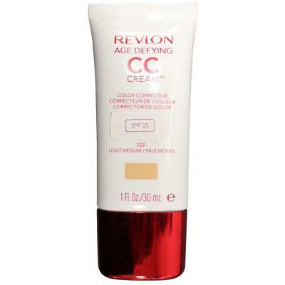 2 x Revlon Age Defying CC Cream SPF25 020 Light Medium 30mL