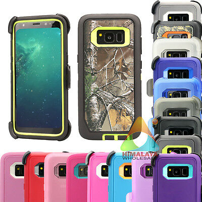 For Samsung Galaxy S8 S8+ Case (Clip fits Otterbox Defender) B17 Holster